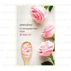 Innisfree - It's Real Squeeze Mask (Rose)