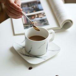 Kawa Simaya - Marbling Mug / Cup / Saucer