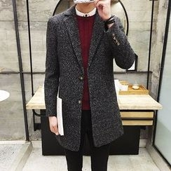 Besto - Knit Lapel Coat