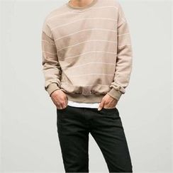 STYLEMAN - Colored Stripe T-Shirt