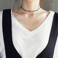 NANING9 - String Choker Necklace