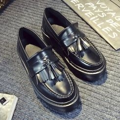 SouthBay Shoes - Tassel Loafers