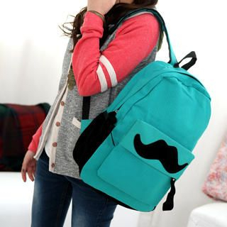 Moustache Backpack