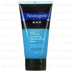 Neutrogena 露得清 - 男士淨涼微粒洗面孔