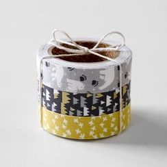 LIFE STORY - 'Daily Like' Series Decorative Tape Set (3 pcs) - WHITE NIGHT