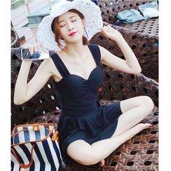 Jumei - 两件套泳裙