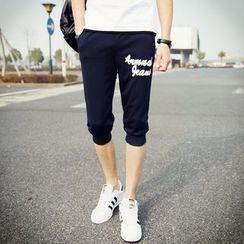 百高 - 字母运动短裤