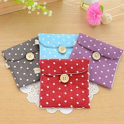 Showroom - Polka Dot Sanitary Pad Pouch