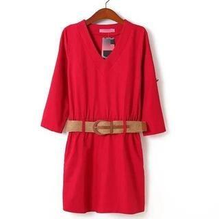 JVL - Belted Dress