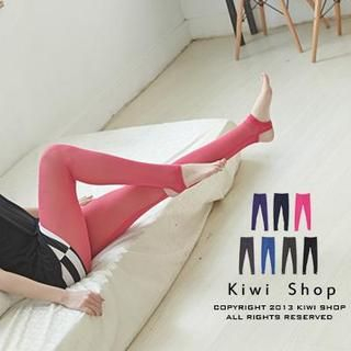 Kiwi Shop - Mesh Sheer Stirrup Leggings