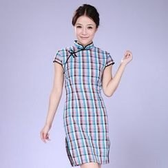 Veiltail - 格子旗袍