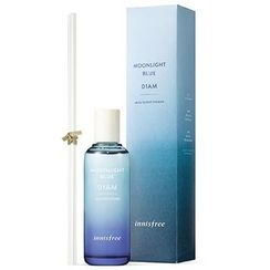Innisfree - Perfumed Diffuser (01AM Moonlight Blue) 100ml With White Fabric Reed Stick 5pcs