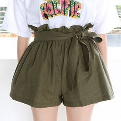 Envy Look - Paperbag-Waist Shorts