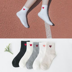 Show Home - Heart Socks