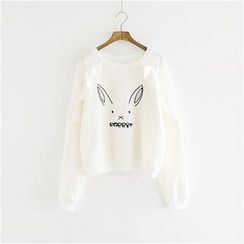 Storyland - Rabbit-Accent Pullover