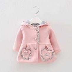 POMME - Kids Rabbit Ear Hooded Jacket