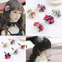 Peneme - Kids Flower Hair Clip / Clamp