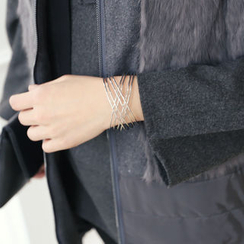 DANI LOVE - Metal Layered Bangle
