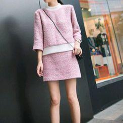 Fancy Show - Set: Tweed Top + Skirt