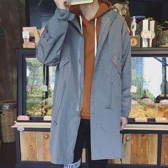 Streetstar - Longline Zip Jacket