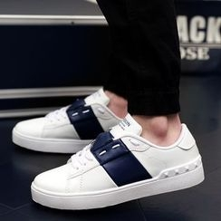 Preppy Boys - Paneled Sneakers