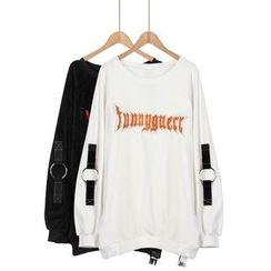 Momewear - 长袖刺绣上衣
