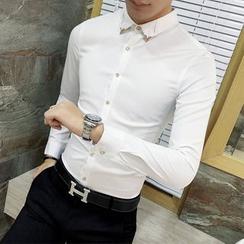 Besto - 金屬裝飾襯衫