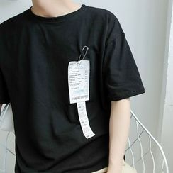 Chuoku - Elbow-Sleeve T-shirt