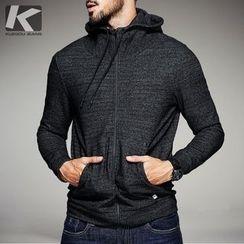 Quincy King - Hooded Zip Jacket