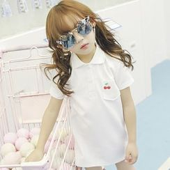 Lemony dudu - Kids Short-Sleeve Polo Shirt
