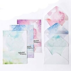 Cute Essentials - Letter Set: 4 Writing Sheets + 2 Envelopes