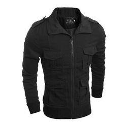 Hansel - Plain Zip Jacket