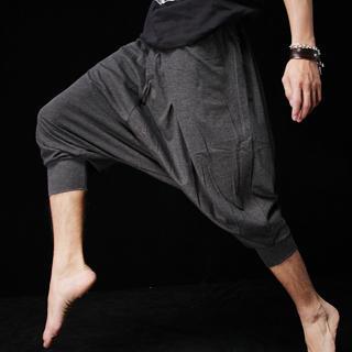 AOYAMA - Drawstring Cropped Pants