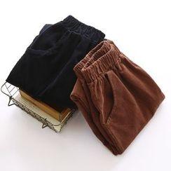 Bonbon - Corduroy Harem Pants