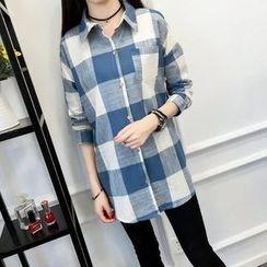 Tangi - Check Long Shirt