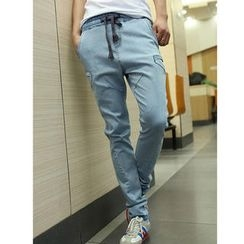 MR.PARK - Slim-Fit Panel Jeans