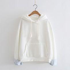 Piko - Panel Fleece-lined Hoodie