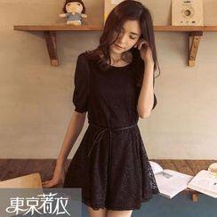 Tokyo Fashion - Lace A-Line Dress