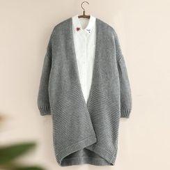 11.STREET - 长款开胸外套