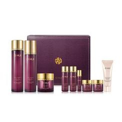O HUI - Age Recovery Special Set: Skin Softener 150ml + 20ml + Emulsion 130ml + 20ml + Cream 20ml + 7ml + Essence 3ml + Eye Cream 5ml + Miracle Moisture Cleansing Foam 40ml