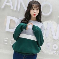 Katie Bloom - Color Block Sweatshirt