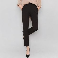 Seoul Fashion - Pocket-Side Tapered Dress Pants