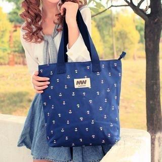 TAIPEI STAR - Canvas Printed Shopper Bag