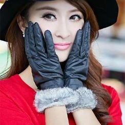 siggi - Faux-Fur Trim Gloves
