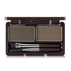 The Saem - Eco Soul Eyebrow Kit (#02 Gray Brown)
