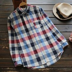 YOYO - Long-Sleeve Check Shirt