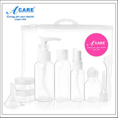 Acare - Set of 6: Travel Skincare Container