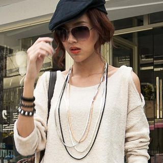 CUTIE FASHION - Multi-Chain Necklace