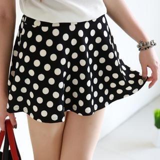 rico - Polka Dot A-Line Skirt