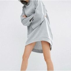 Flore - Hooded Pullover Dress